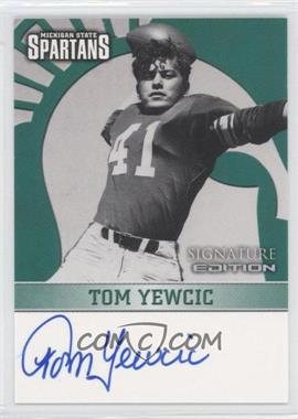 2003 TK Legacy Michigan State Spartans - Signature Edition #MSUMSU18 - Tom Yewcic