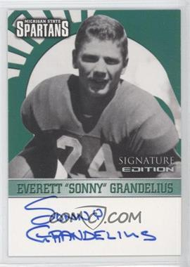 2003 TK Legacy Michigan State Spartans - Signature Edition #MSUMSU4 - Everett Grandelius