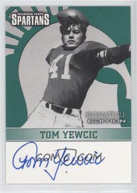 2003 TK Legacy Michigan State Spartans [???] #MSU18 - Tom Yewcic
