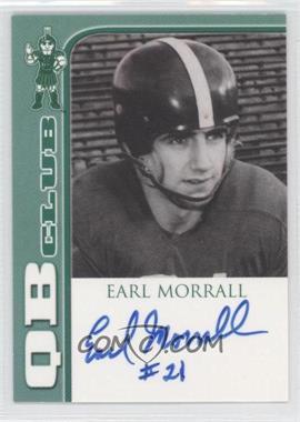 2003 TK Legacy Michigan State Spartans QB Club Autographs #3 - Earl Morrall /300
