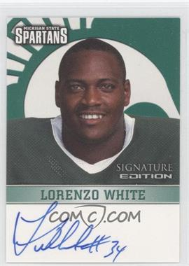 2003 TK Legacy Michigan State Spartans Signature Edition #MSUMSU11 - Lorenzo White