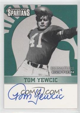 2003 TK Legacy Michigan State Spartans Signature Edition #MSUMSU18 - Tom Yewcic