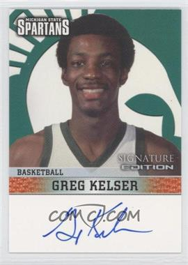 2003 TK Legacy Michigan State Spartans Signature Edition #MSUMSUB1 - Greg Kelser