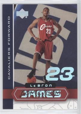 2003 UD Superstars Lebron James #LBJ-4 - Lebron James
