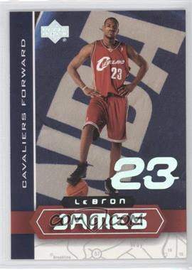 2003 UD Superstars Lebron James #LBJ-4 - Lebron James