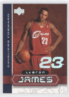 2003 UD Superstars Lebron James #LBJ-5 - Lebron James