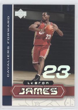 2003 UD Superstars Lebron James #LBJ-6 - Lebron James