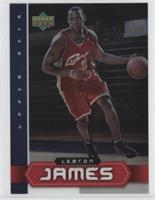 LeBron James (Lenticular Cover Card)