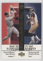 Mark McGwire, Kurt Warner