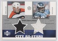 John LeClair, Duce Staley