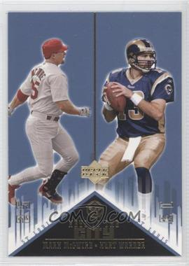2003 Upper Deck UD Superstars [???] #K3 - Mark McGwire, Kurt Warner