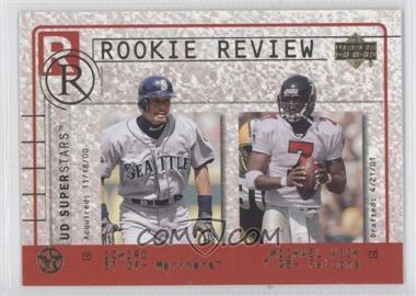 2003 Upper Deck UD Superstars [???] #R2 - Ichiro Suzuki, Michael Vick