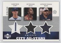Mark Prior, Jay Williams, Anthony Thomas /250