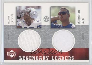 2003 Upper Deck UD Superstars Legendary Leaders Dual #ES-AR-L - [Missing]