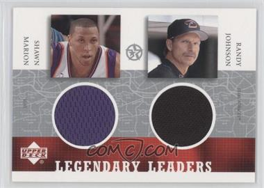 2003 Upper Deck UD Superstars Legendary Leaders Dual #SM/RJ-L - [Missing]