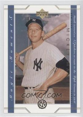 2003 Upper Deck UD Superstars Magic Moments #MM7 - Mickey Mantle
