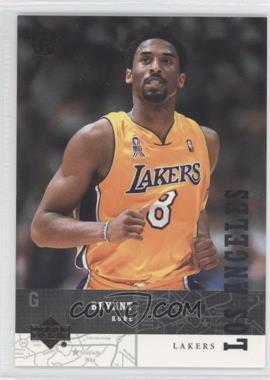 2003 Upper Deck UD Superstars Spokesmen Black #UD-24 - Kobe Bryant /250