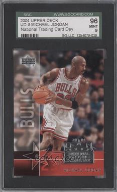 2004 National Trading Card Day - [Base] #UD-8 - Michael Jordan [SGC96]