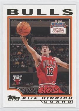2004 National Trading Card Day #10.1 - Kirk Hinrich (Topps)