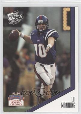 2004 National Trading Card Day #PP6 - Eli Manning