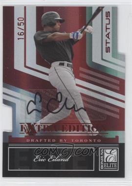 2007 Donruss Elite Extra Edition - [Base] - Status Die-Cut Signatures [Autographed] #20 - Eric Eiland /50