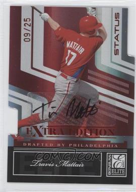 2007 Donruss Elite Extra Edition - [Base] - Status Die-Cut Signatures [Autographed] #40 - Travis Mattair /25