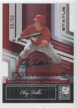 2007 Donruss Elite Extra Edition - [Base] - Status Die-Cut Signatures [Autographed] #97 - Clay Fuller /50