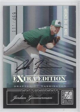 2007 Donruss Elite Extra Edition - [Base] - Turn of the Century Signatures [Autographed] #26 - Jordan Zimmermann /469