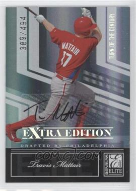 2007 Donruss Elite Extra Edition - [Base] - Turn of the Century Signatures [Autographed] #40 - Travis Mattair /494