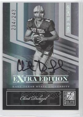 2007 Donruss Elite Extra Edition - [Base] - Turn of the Century Signatures [Autographed] #82 - Clint Dolezel /243