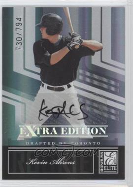 2007 Donruss Elite Extra Edition - [Base] #115 - Kevin Ahrens /794
