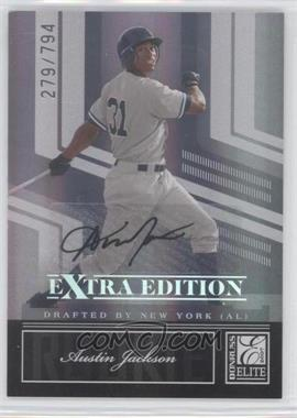 2007 Donruss Elite Extra Edition - [Base] #141 - Austin Jackson /794