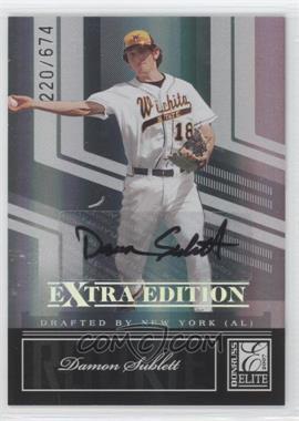 2007 Donruss Elite Extra Edition - [Base] #98 - Damon Sublett /674