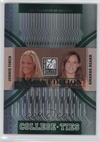Amanda Beard, Jennie Finch /1500