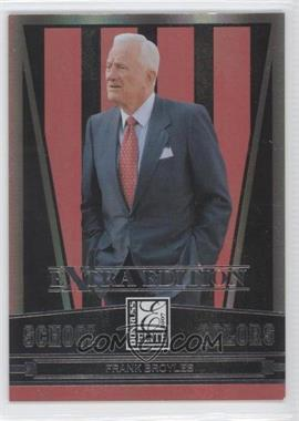 2007 Donruss Elite Extra Edition - School Colors #SC-20 - Frank Broyles /1500