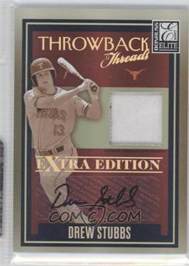 2007 Donruss Elite Extra Edition - Throwback Threads - Prime Signatures [Autographed] #TT-DS - Drew Stubbs /25