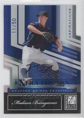 2007 Donruss Elite Extra Edition Aspirations Die-Cut Signatures [Autographed] #117 - Madison Bumgarner /50