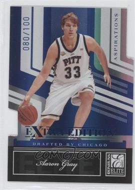 2007 Donruss Elite Extra Edition Aspirations Die-Cut #57 - Aaron Gray /100