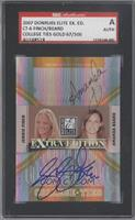 Amanda Beard, Jennie Finch /500 [SGC AUTHENTIC AUTO]