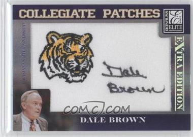 2007 Donruss Elite Extra Edition Collegiate Patches #CP-DB - Dale Brown /250