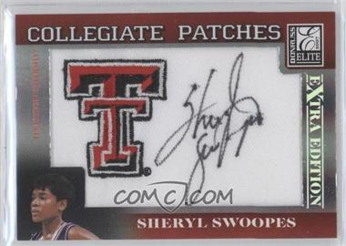 2007 Donruss Elite Extra Edition Collegiate Patches #CP-SS - Sheryl Swoopes /250