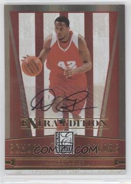 2007 Donruss Elite Extra Edition School Colors Signatures [Autographed] #SC-8 - Alando Tucker /50