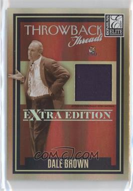 2007 Donruss Elite Extra Edition Throwback Threads #TT-DB - Dale Brown /500