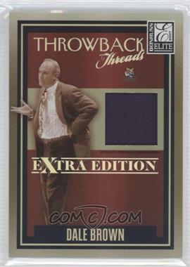 2007 Donruss Elite Extra Edition Throwback Threads #TT-DB - Dale Brown /500