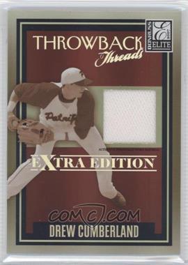 2007 Donruss Elite Extra Edition Throwback Threads #TT-DC  - Drew Cumberland /500
