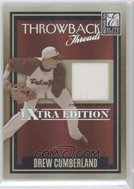 2007 Donruss Elite Extra Edition Throwback Threads #TT-DC - Drew Cumberland /500