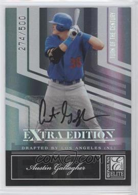 2007 Donruss Elite Extra Edition Turn of the Century Signatures [Autographed] #2 - Austin Gallagher /500