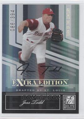 2007 Donruss Elite Extra Edition Turn of the Century Signatures [Autographed] #24 - Jess Todd /394