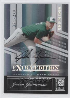 2007 Donruss Elite Extra Edition Turn of the Century Signatures [Autographed] #26 - Jordan Zimmermann /469