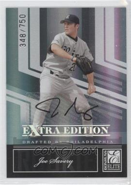 2007 Donruss Elite Extra Edition #107 - Joe Savery /750